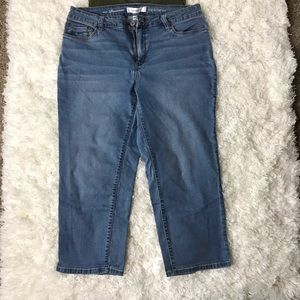 Women's Premium Denim Stretch Capri's Size 14